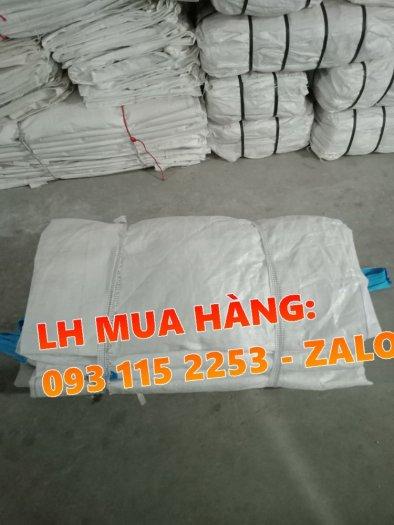 Túi jumbo 1 tấn không nắp chứa lúa, viên nén trữ kho3