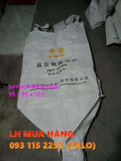 Túi jumbo 1 tấn không nắp chứa lúa, viên nén trữ kho2