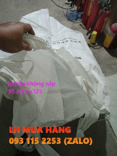 Túi jumbo 1 tấn không nắp chứa lúa, viên nén trữ kho1