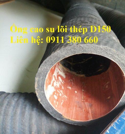 Ống cao su lõi thép D150 hút nước, hút cát- Nhật Minh Hiếu2