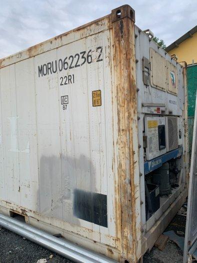 Container lạnh 20feet Nhật Bản MOL0