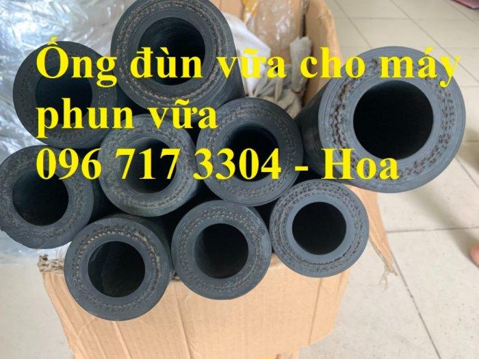 Phân phối ống cao su phun vữa dùng cho máy phun vữa4