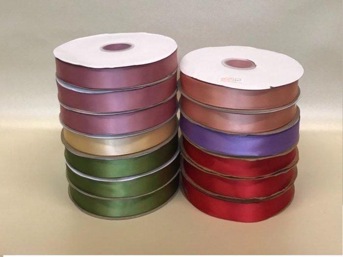 Ruy băng lụa cao cấp 2,5F màu trơn - PLNK080