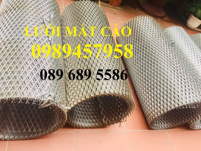 Lưới dập giãn 36x101, 10x20, 20x40, Lưới mắt cáo, lưới hình thoi có sẵn3