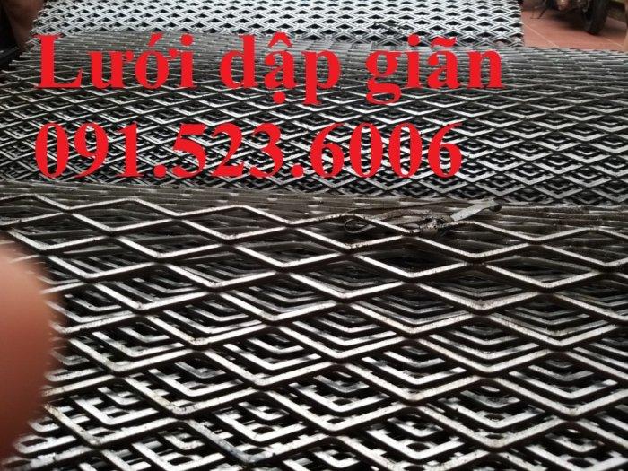 Lưới dập giãn cán phẳng, lưới mắt cáo, lưới XG, lưới hình thoi cán phẳng, lưới trang trí giá rẻ5