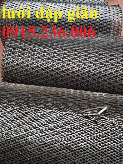 Lưới dập giãn cán phẳng, lưới mắt cáo, lưới XG, lưới hình thoi cán phẳng, lưới trang trí giá rẻ4