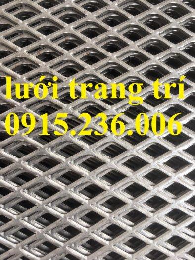 Lưới dập giãn cán phẳng, lưới mắt cáo, lưới XG, lưới hình thoi cán phẳng, lưới trang trí giá rẻ1