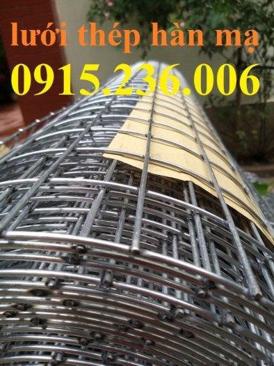 Lưới thép hàn, lưới thép hàn mạ kẽm D3 ô 50x50 khổ 1m x15m hàng sẵn kho mới 100%4