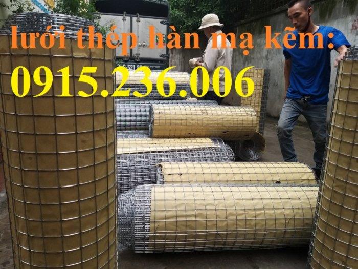 Lưới thép hàn, lưới thép hàn mạ kẽm D3 ô 50x50 khổ 1m x15m hàng sẵn kho mới 100%3