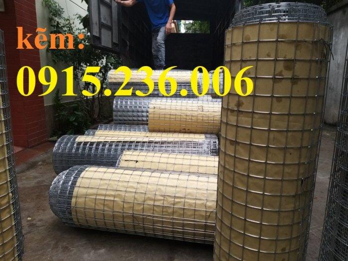 Lưới thép hàn, lưới thép hàn mạ kẽm D3 ô 50x50 khổ 1m x15m hàng sẵn kho mới 100%2