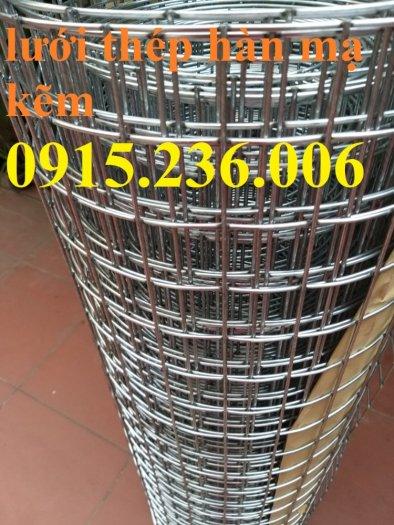 Lưới thép hàn, lưới thép hàn mạ kẽm D3 ô 50x50 khổ 1m x15m hàng sẵn kho mới 100%1