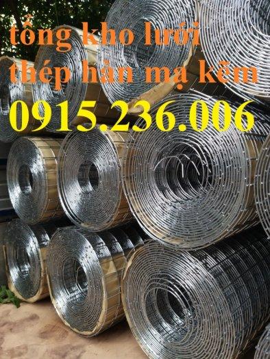 Lưới thép hàn, lưới thép hàn mạ kẽm D3 ô 50x50 khổ 1m x15m hàng sẵn kho mới 100%0