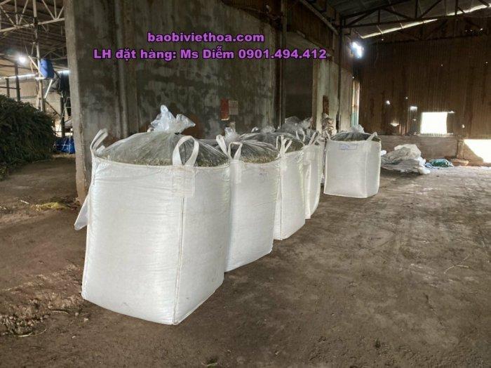 Bao Jumbo đựng cỏ, đựng bắp ủ chua2
