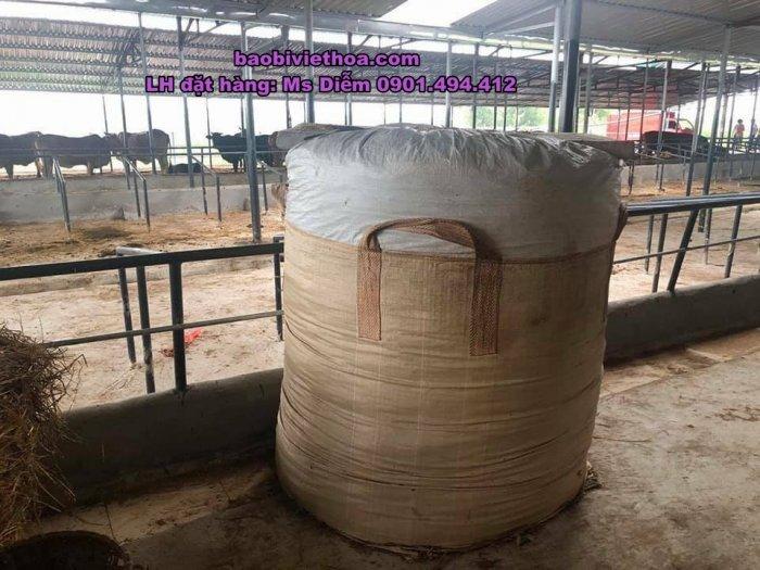 Bao Jumbo đựng cỏ, đựng bắp ủ chua1