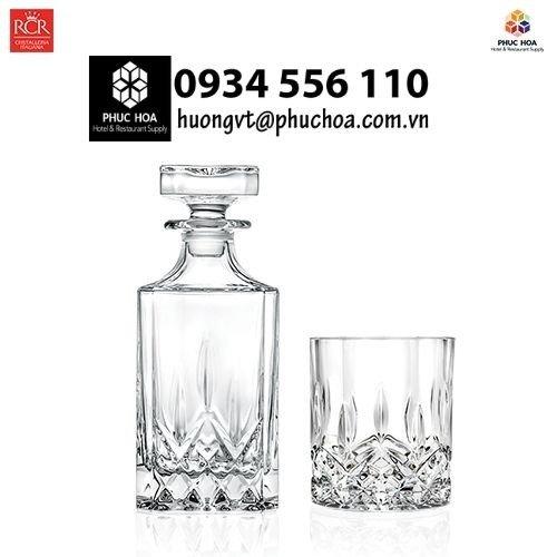 Ly cốc thủy tinh nhập khẩu cao cấp RCR Hà Nội10