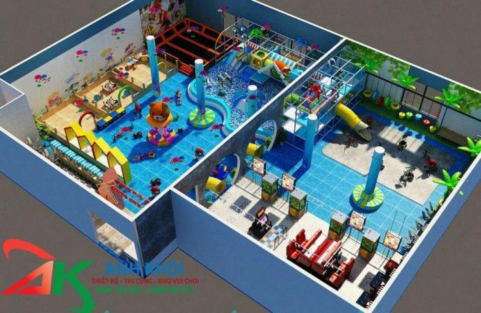 Chi phí lắp đặt khu vui chơi trẻ em giá rẻ3