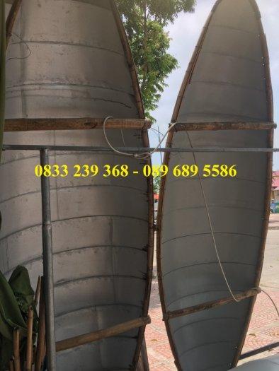 Thuyền tôn/Inox chèo tay, tải trọng 250kg(liên hệ báo giá)0
