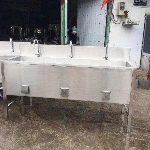 Chậu rửa tay inox Hải MInh HM 212