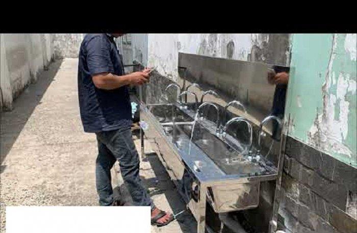 Chậu rửa tay inox Hải MInh HM 210
