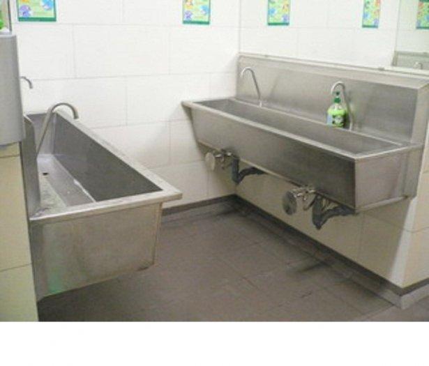 Chậu rửa tay y tế inox Hải Minh HM 0223