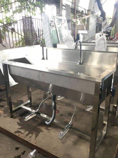 Chậu rửa tay y tế inox Hải Minh HM 0222