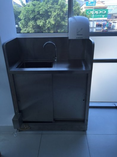Chậu rửa tay y tế inox Hải Minh HM 0221