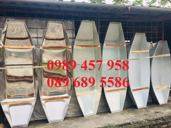 Cung cấp thuyền inox, Thuyền tôn, Thuyền câu cá cho 2-3 người5