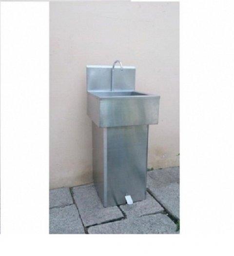 Bồn rửa tay inox 1 hộc Hải Minh HM 050