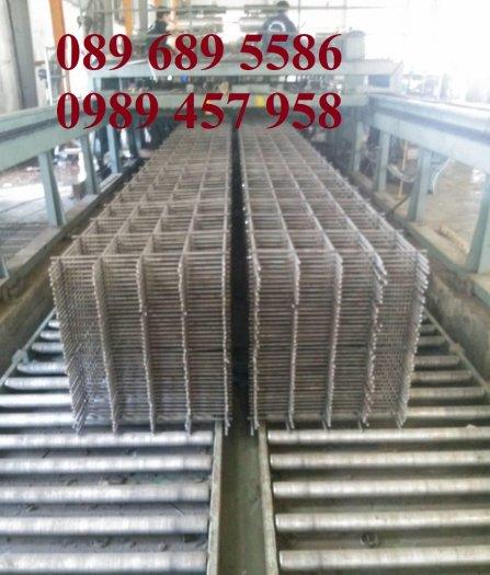 Lưới thép hàn tấm, Lưới thép hàn chập phi 6 a 200x200, Lưới thép phi 8 a 200x2008