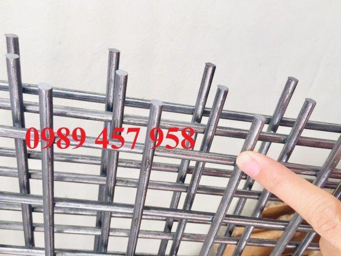 Lưới thép hàn tấm, Lưới thép hàn chập phi 6 a 200x200, Lưới thép phi 8 a 200x2002