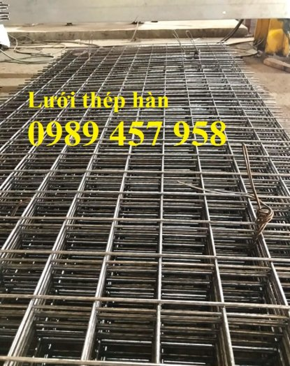 Lưới thép hàn tấm, Lưới thép hàn chập phi 6 a 200x200, Lưới thép phi 8 a 200x2001