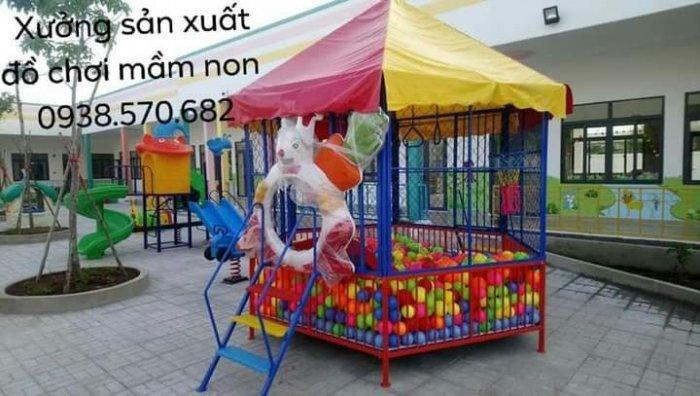 Nhà banh trẻ em,nhà banh đường kính 3m4