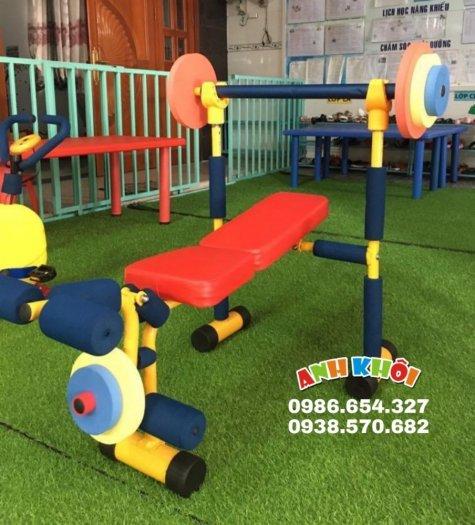 Tập gym chạy bộ mini cho trẻ em3