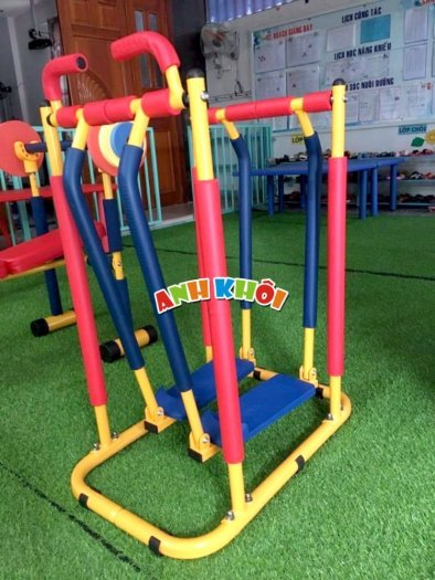 Tập gym chạy bộ mini cho trẻ em0