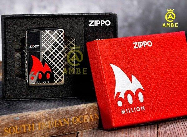 Bật lửa kỷ niệm 600 triệu chiếc Zippo 492729