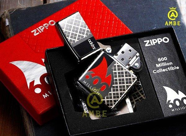 Bật lửa kỷ niệm 600 triệu chiếc Zippo 492728