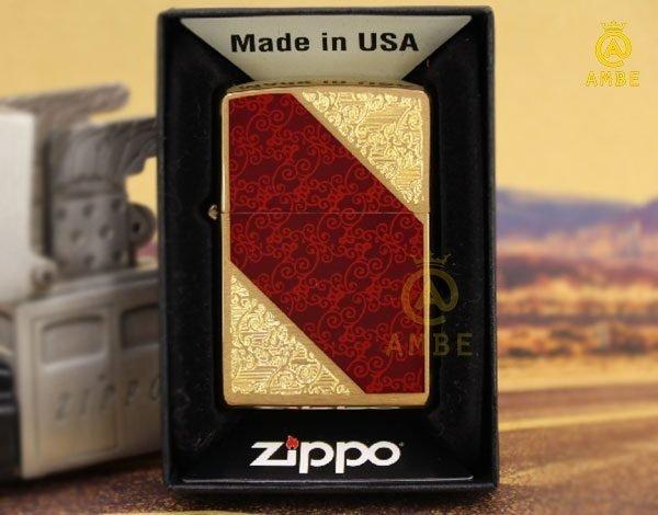 Bật lửa Zippo Mỹ Luxury 283770