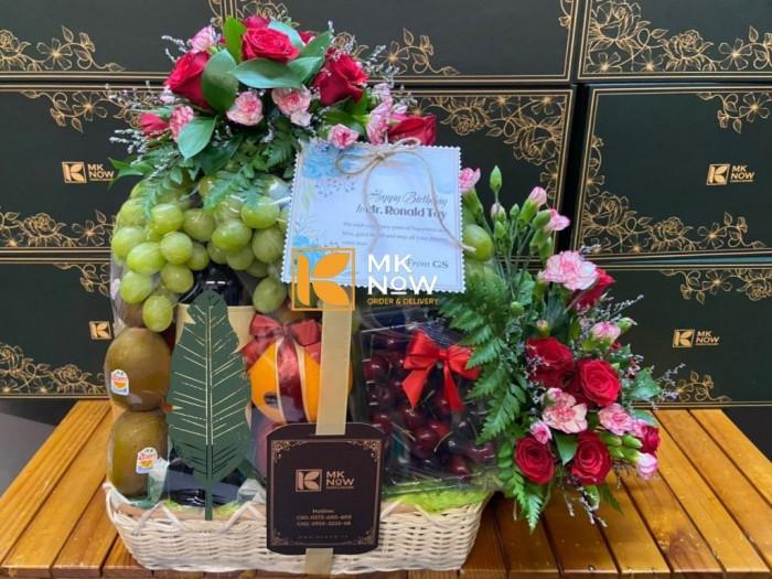 Đặt Giỏ quà mừng sinh nhật sếp nam - FSNK2470