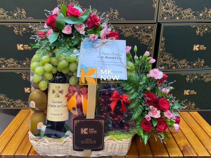 Giỏ quà mừng sinh nhật sếp nam - FSNK2472