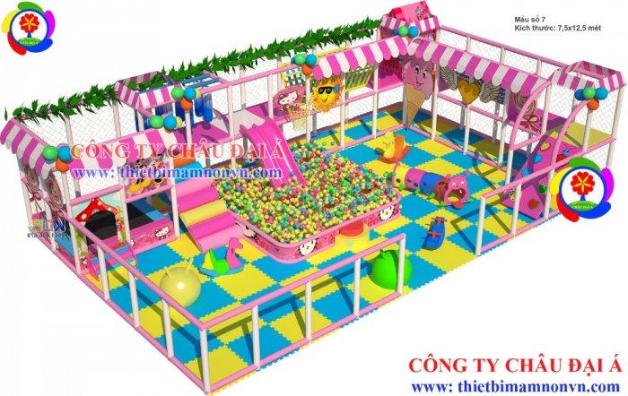 Thiết kế , lắp đặt khu vui chơi theo yêu cầu giá rẻ6