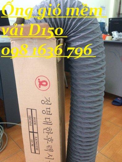 Ống gió mềm D100 , ống gió có lõi thép D100.5