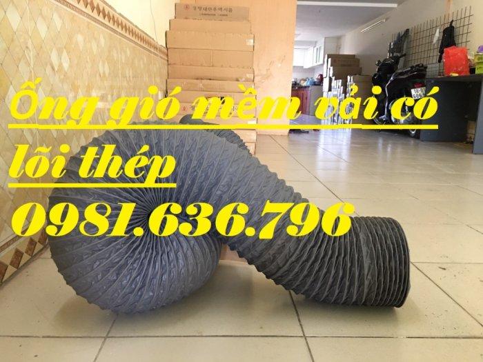 Ống gió mềm D100 , ống gió có lõi thép D100.3