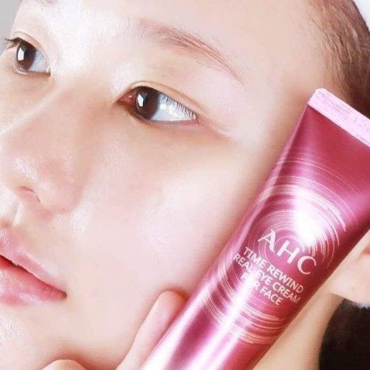 Kem dưỡng vùng mắt AHC Time Rewind Real Eye Cream For Face0