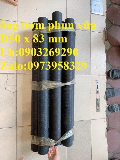 Bán phụ gia , ống cao su phun bắn vữa bê tông Phi 40 x 72mm , Phi 50 x 83 mm , Phin 32 x 68 mm ( giao hàng toàn quốc)9