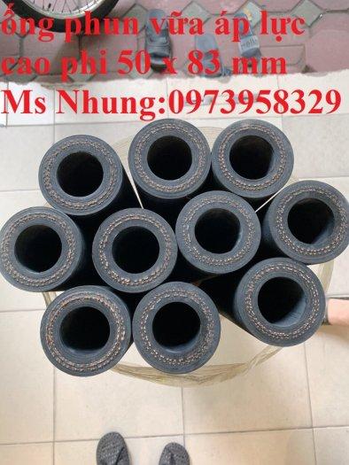 Bán phụ gia , ống cao su phun bắn vữa bê tông Phi 40 x 72mm , Phi 50 x 83 mm , Phin 32 x 68 mm ( giao hàng toàn quốc)8