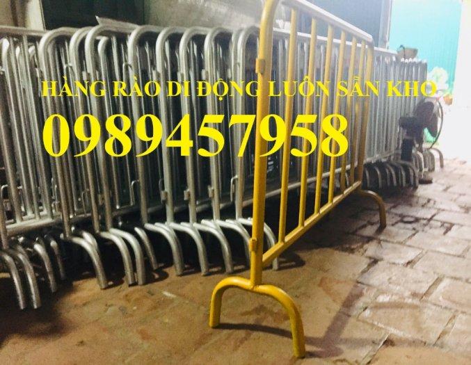 Sản xuất hàng rào di động khoanh khu vực cách ly Covid 1mx2m, 1,2mx2m và 1,5mx2m9