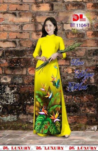 Vài áo dài lụa nhung nhật đính đá cao cấp BT 1104 của vải áo dài Kim Ngọc37