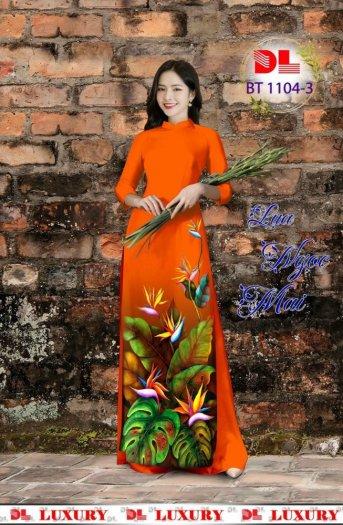 Vài áo dài lụa nhung nhật đính đá cao cấp BT 1104 của vải áo dài Kim Ngọc27