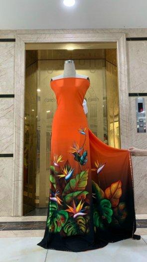 Vài áo dài lụa nhung nhật đính đá cao cấp BT 1104 của vải áo dài Kim Ngọc26