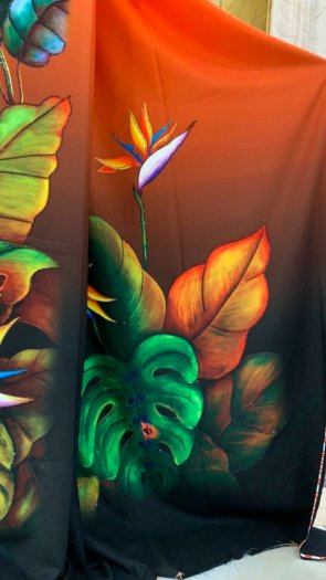 Vài áo dài lụa nhung nhật đính đá cao cấp BT 1104 của vải áo dài Kim Ngọc24